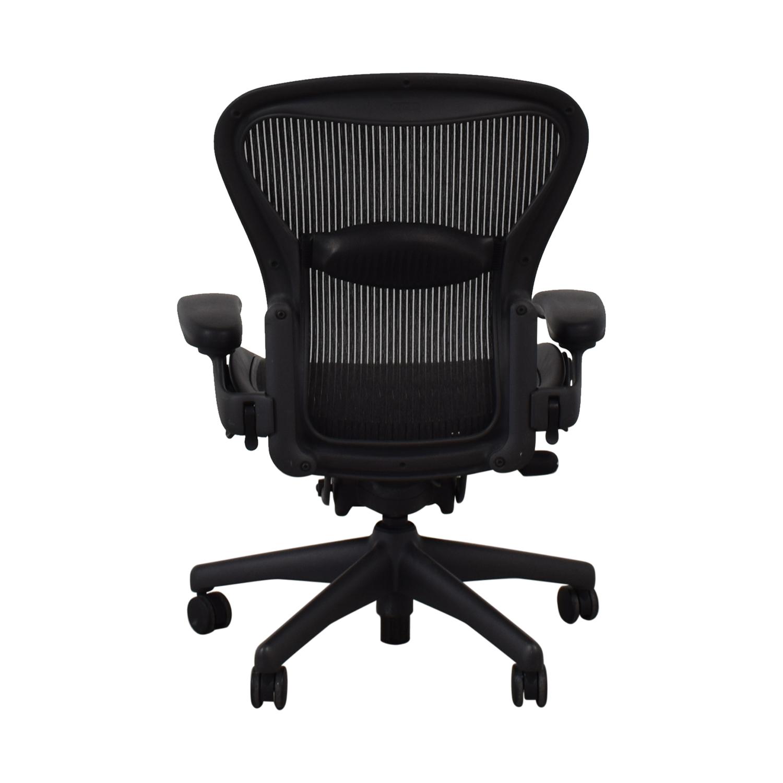 Herman Miller Herman Miller Aeron Chair Size B dimensions