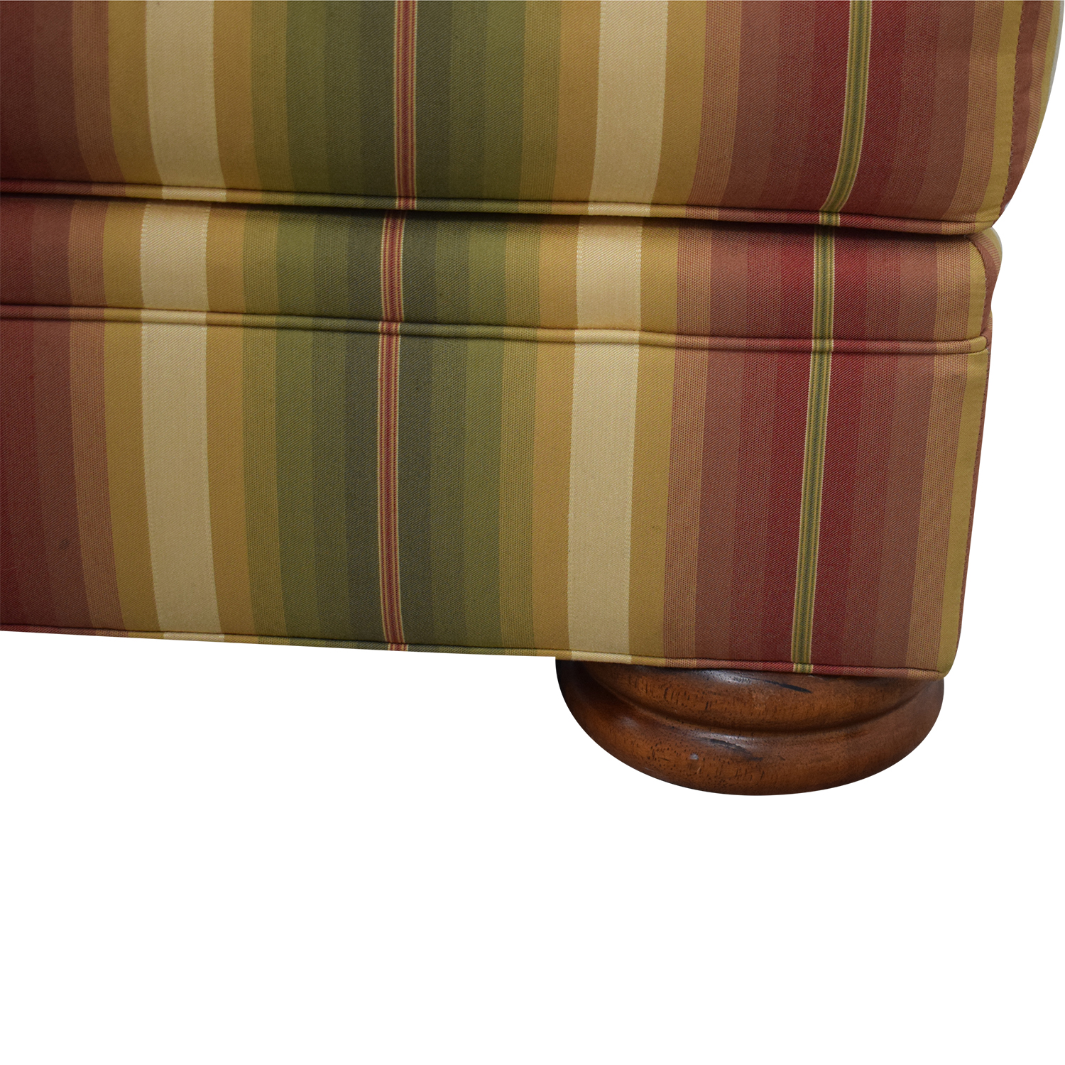 buy Thomasville Striped Ottoman Thomasville Ottomans