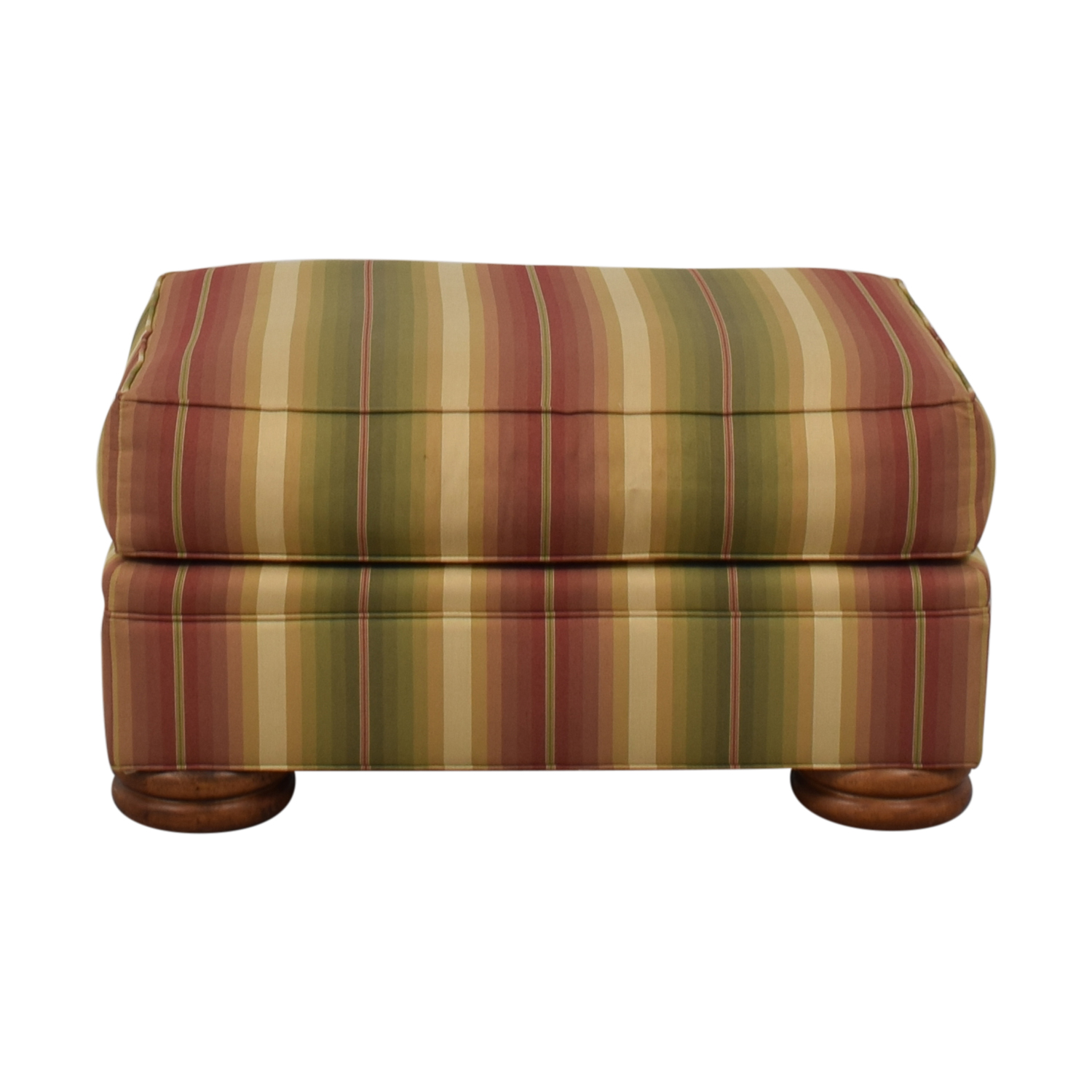 buy Thomasville Striped Ottoman Thomasville Chairs