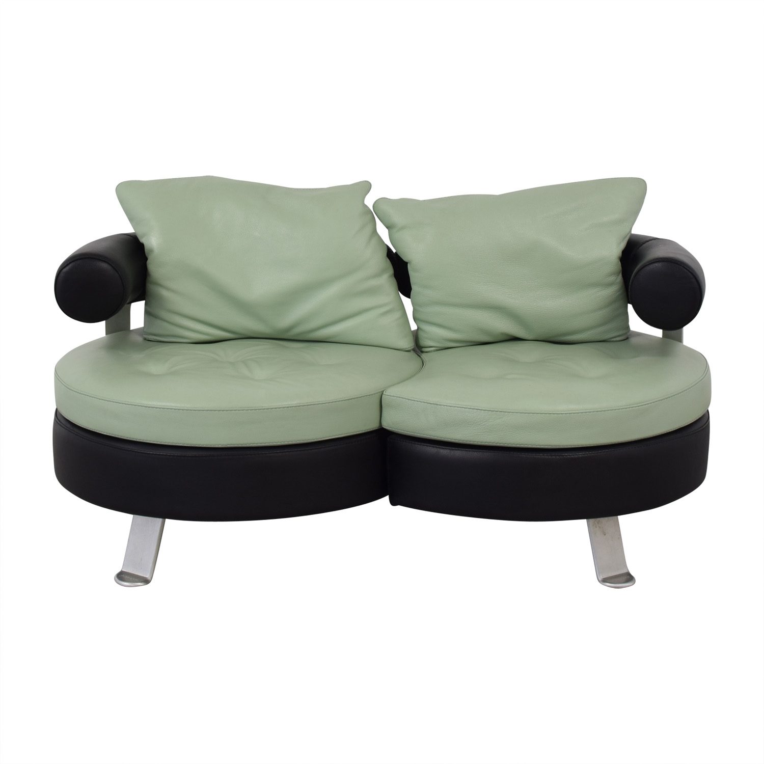 Formenti Formenti Swiveling Loveseat for sale