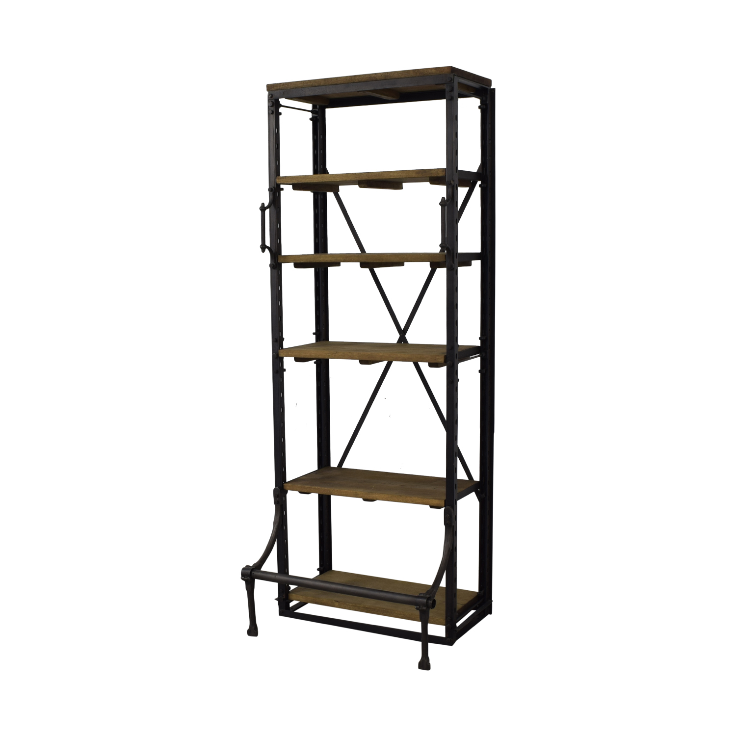 Restoration Hardware French Library Narrow Single Shelving Restoration Hardware