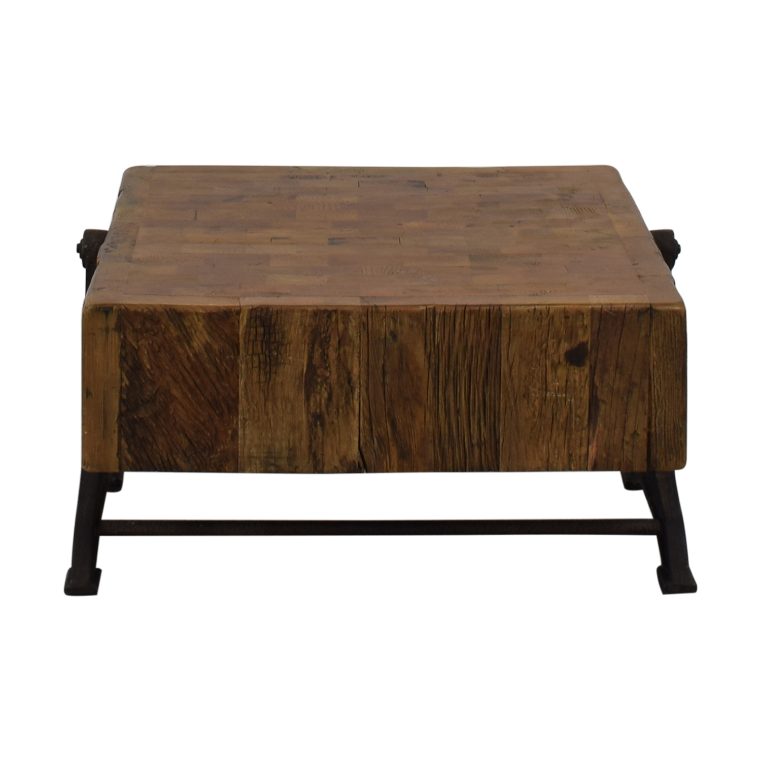 Restoration Hardware Reclaimed Russian Pine Industrial Coffee Table / Coffee Tables