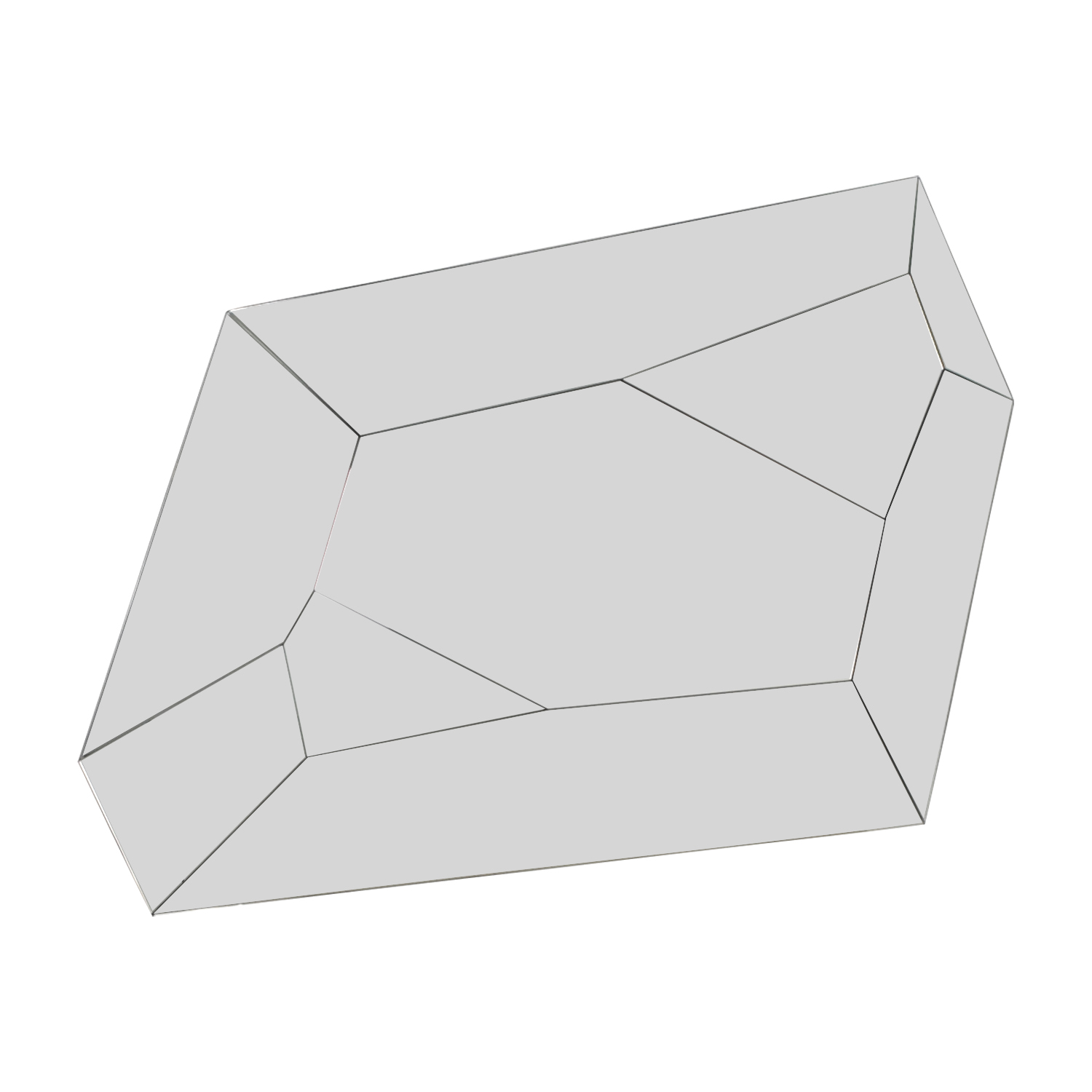 Multiple Angled Mirror dimensions