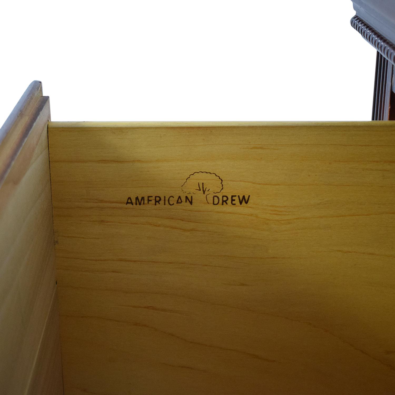 American Drew Americans Drew Dresser with Mirror dimensions