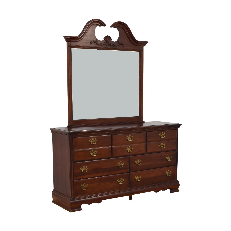 buy Americans Drew Dresser with Mirror American Drew Storage