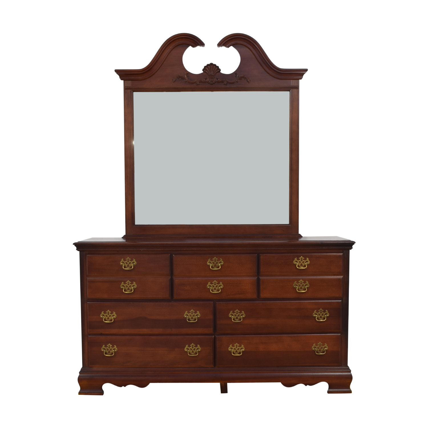 American Drew American Drew Dresser with Mirror coupon