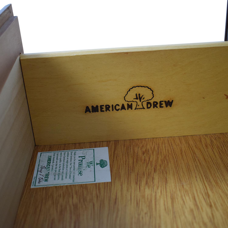 American Drew American Drew Three-Drawer Nightstands nj