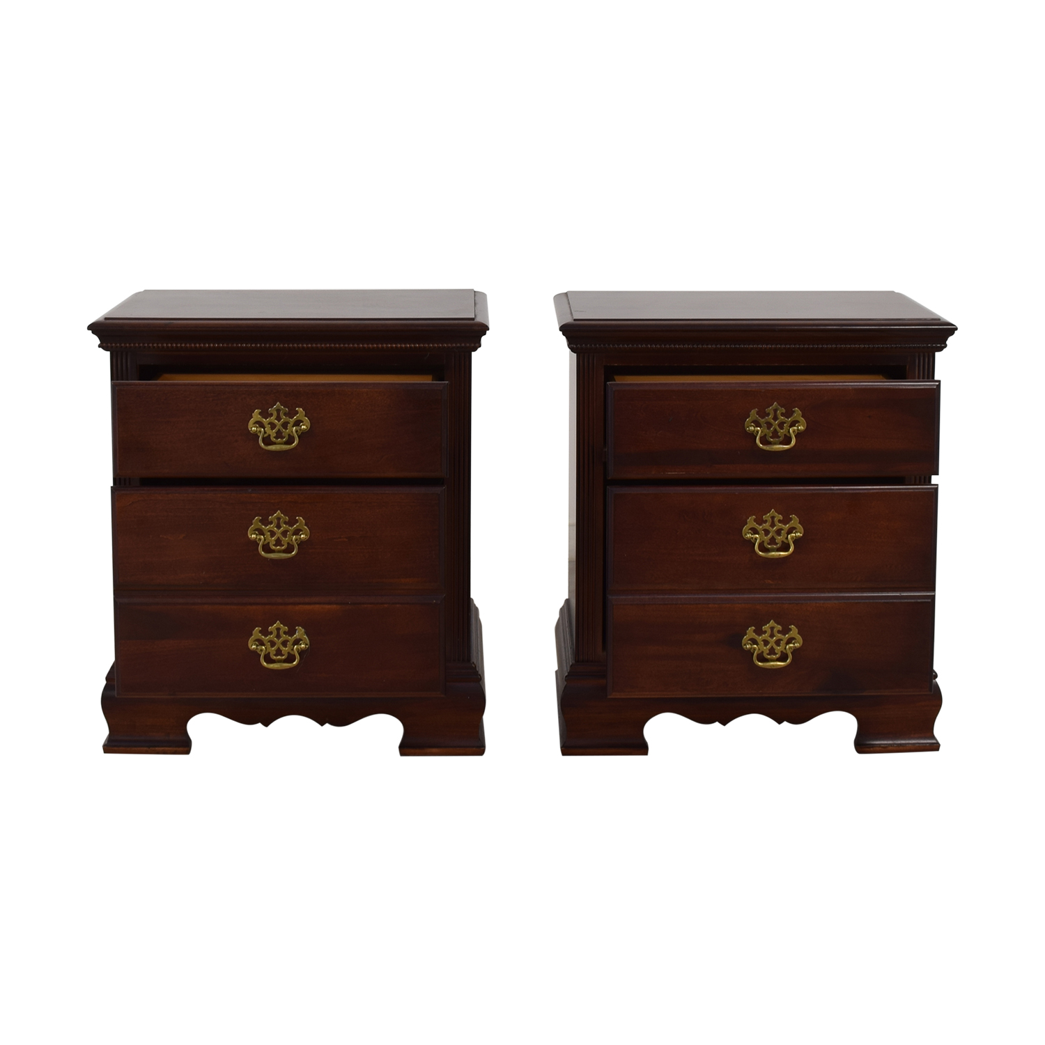 American Drew American Drew Three-Drawer Nightstands for sale