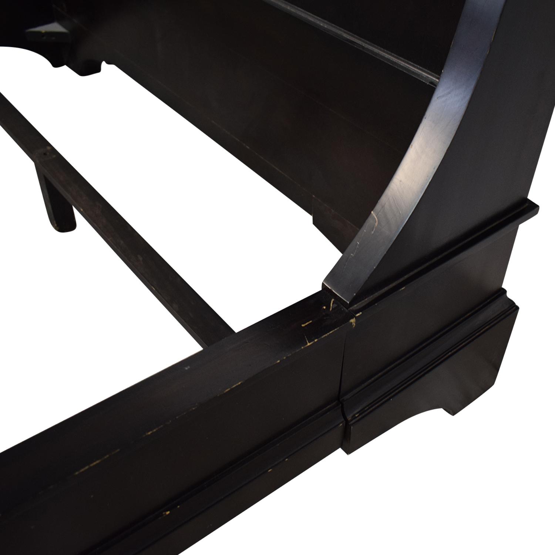 shop Restoration Hardware Portman Sleigh Bed Restoration Hardware Bed Frames