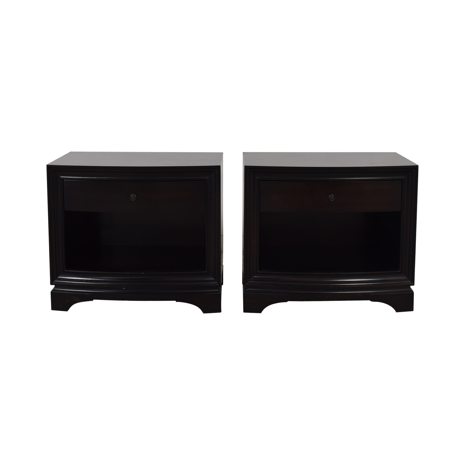 buy Restoration Hardware Restoration Hardware Portman 1-Drawer Open Nightstands online