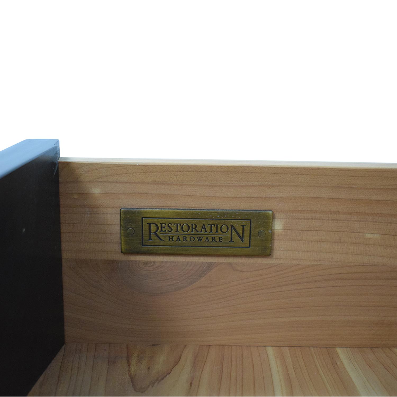 buy Restoration Hardware Restoration Hardware Portman 1-Drawer Open Nightstands online