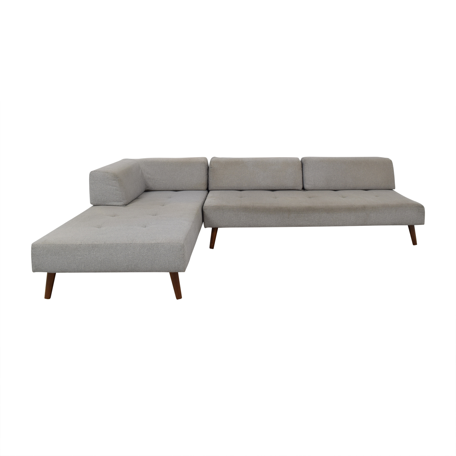 West Elm Sectional Couch / Sofas