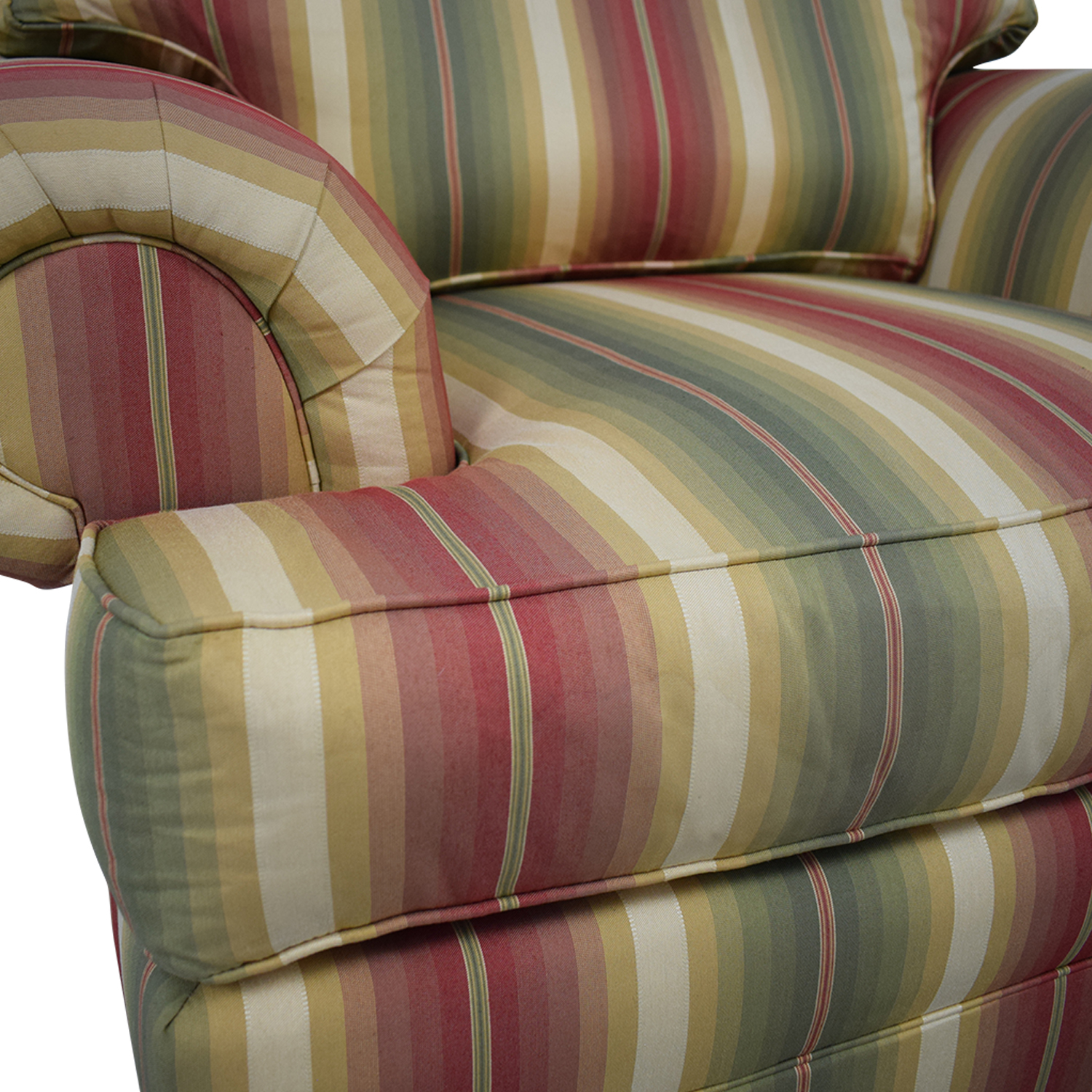 Thomasville Thomasville Custom Roll Arm Accent Chair on sale