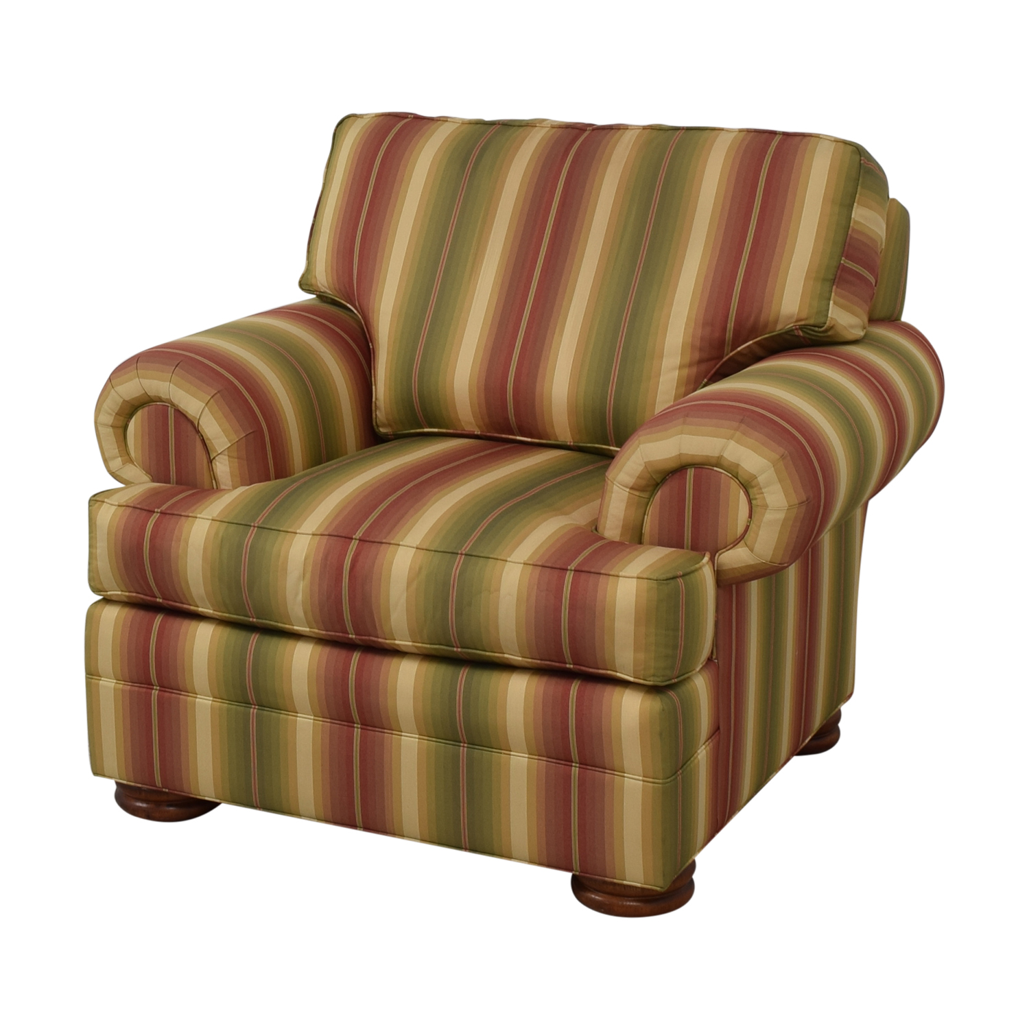 Thomasville Thomasville Custom Roll Arm Accent Chair nyc