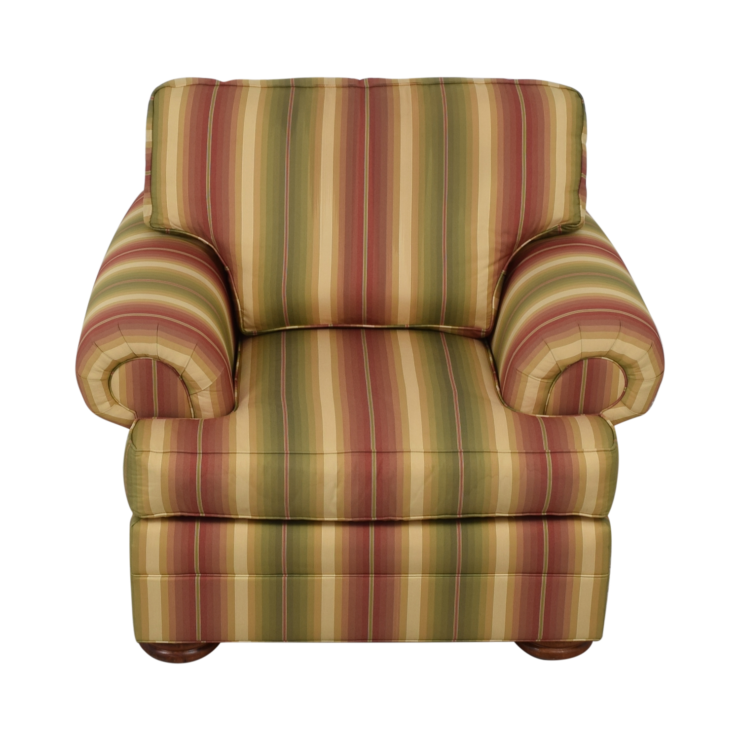 shop Thomasville Custom Roll Arm Accent Chair Thomasville