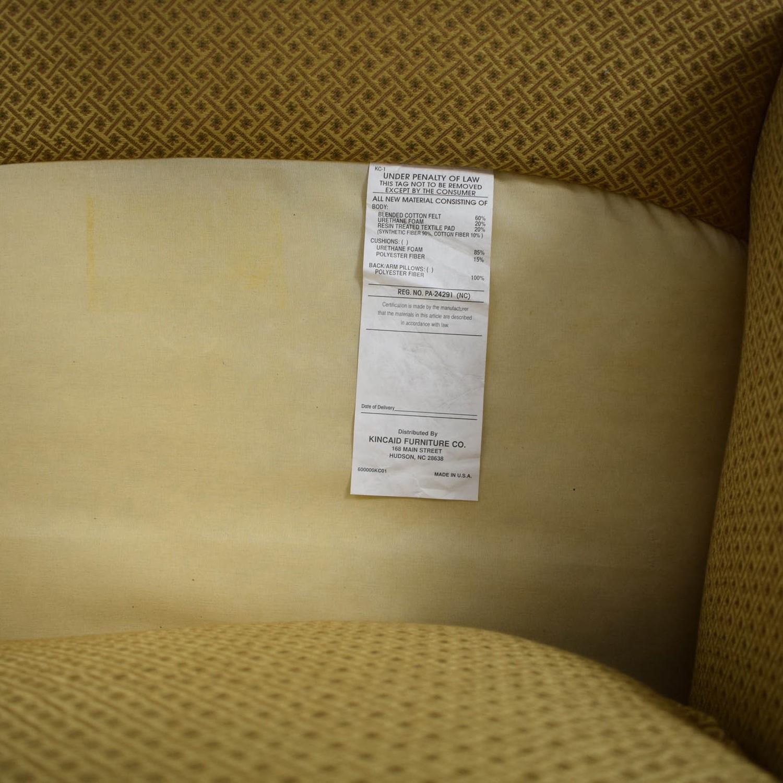 Kincaid Furniture Kincaid Furniture Studded Classic Custom Fabric Chair for sale