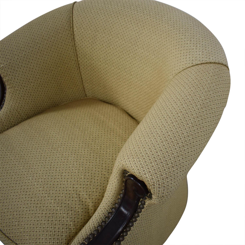Kincaid Furniture Kincaid Furniture Studded Classic Custom Fabric Chair Chairs
