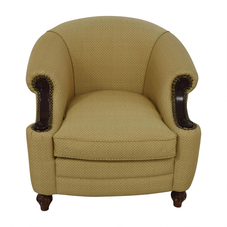 Kincaid Furniture Kincaid Furniture Studded Classic Custom Fabric Chair dimensions