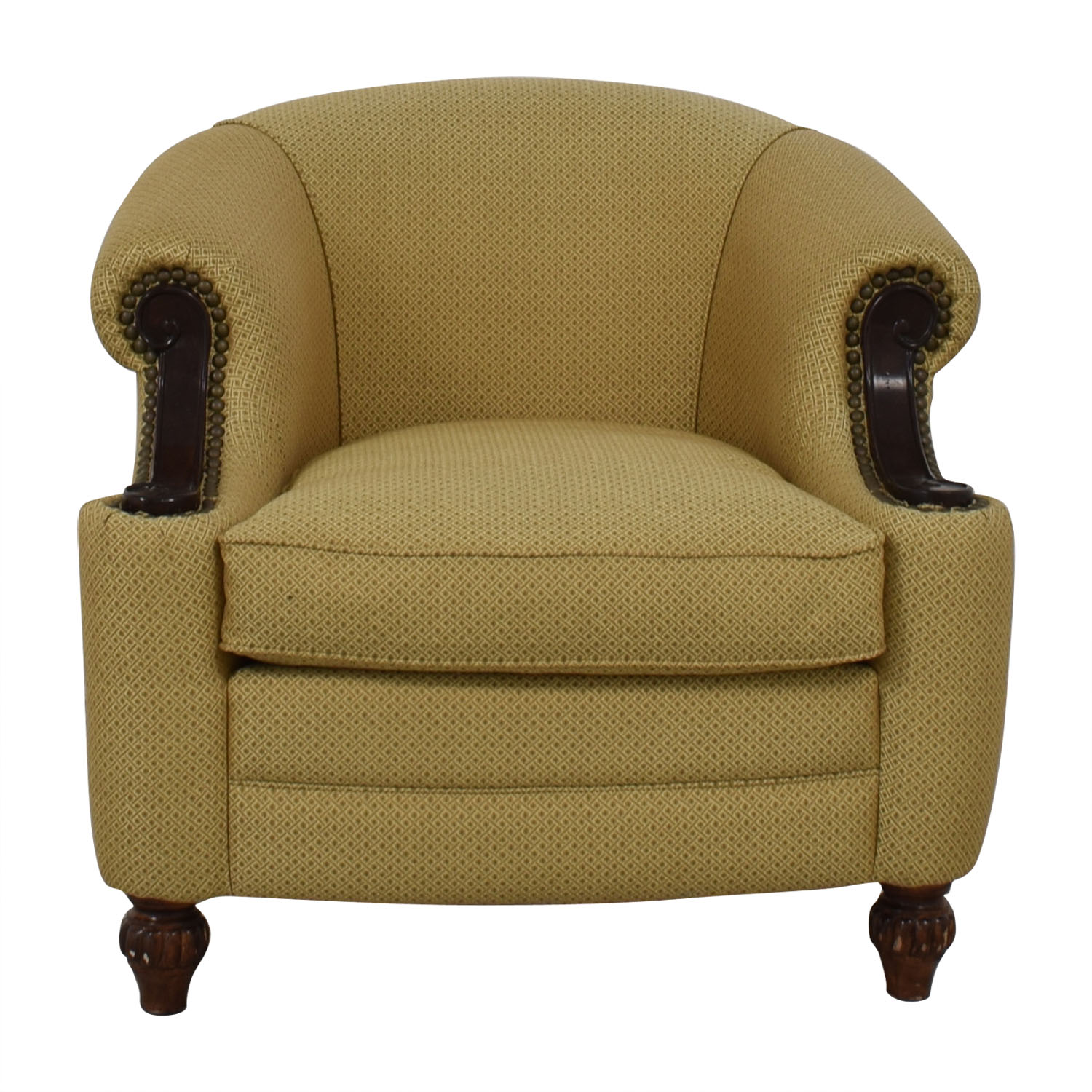 Kincaid Furniture Kincaid Furniture Studded Classic Custom Fabric Chair