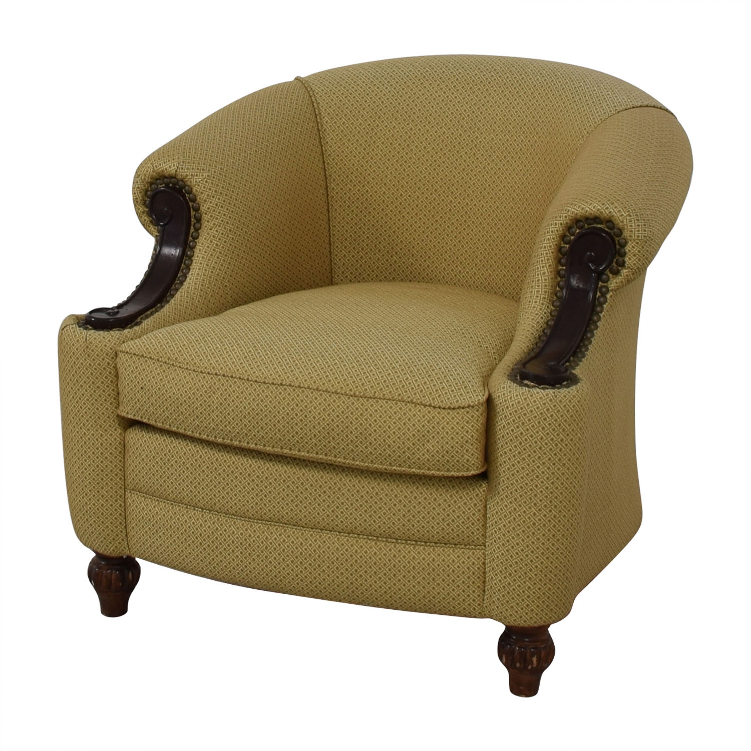 Kincaid Furniture Studded Classic Custom Fabric Chair / Accent Chairs