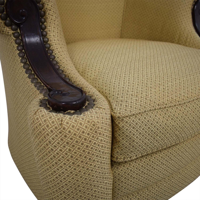 shop Kincaid Furniture Studded Classic Custom Fabric Chair Kincaid Furniture Chairs