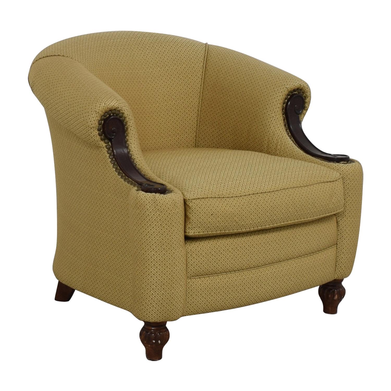 Custom Fabric Accent Chairs.78 Off Kincaid Furniture Kincaid Furniture Studded Classic Custom Fabric Chair Chairs