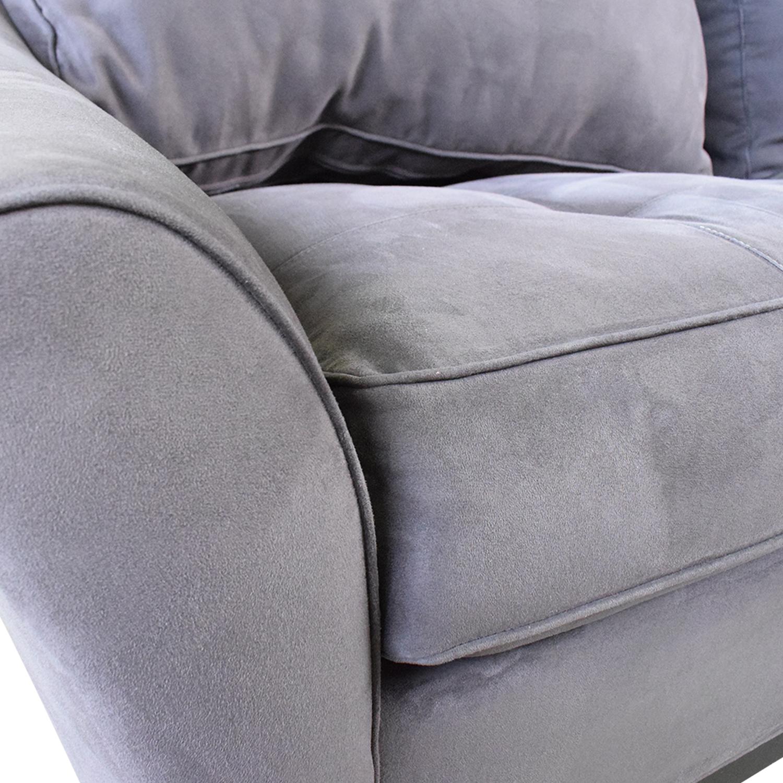 shop Raymour & Flanigan Raymour & Flanigan Queen Microfiber Sleeper Sofa online