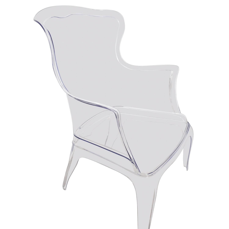 Zuo Modern Zuo Modern Transparent Vision Chair Clear