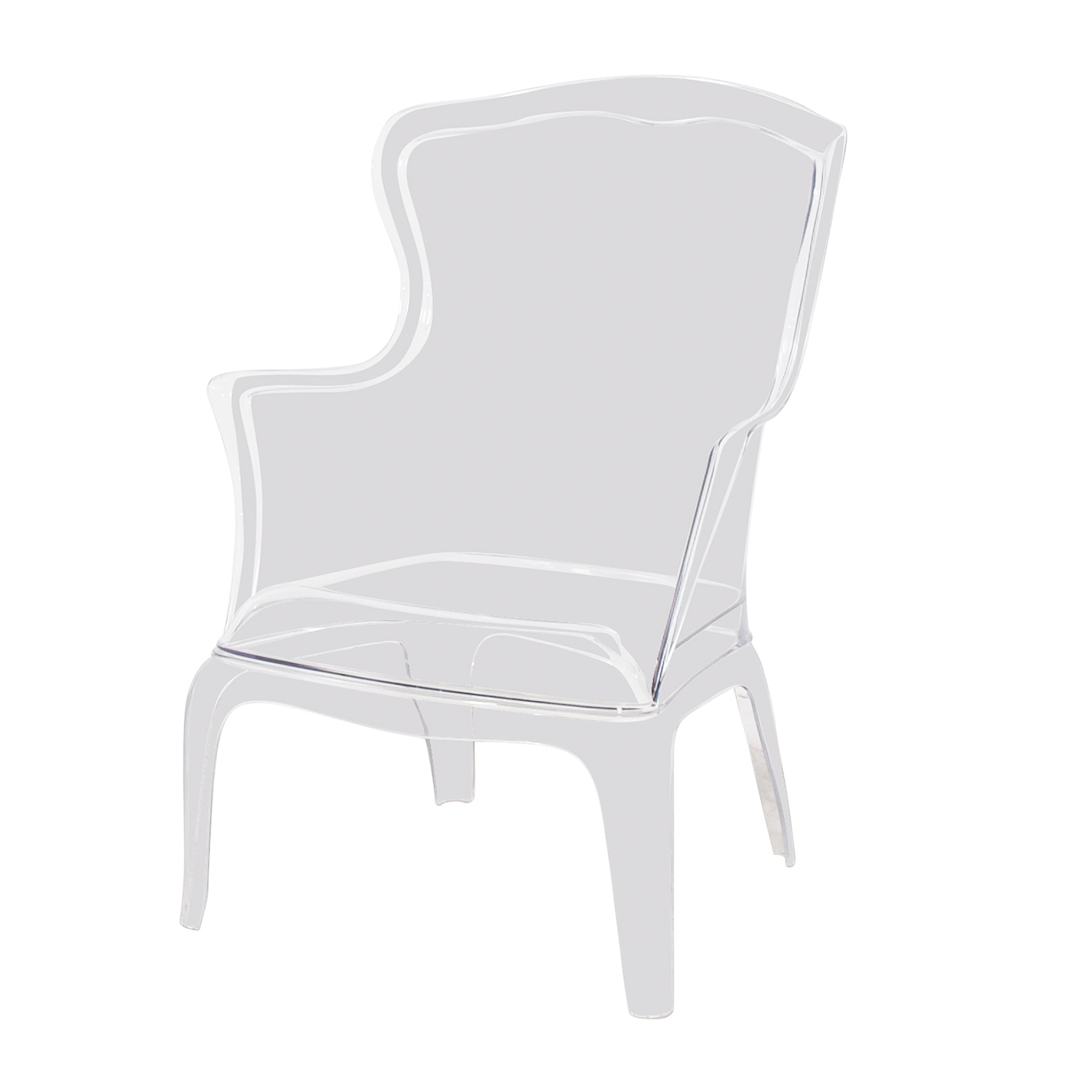 76% OFF   Zuo Modern Zuo Modern Transparent Vision Chair / Chairs