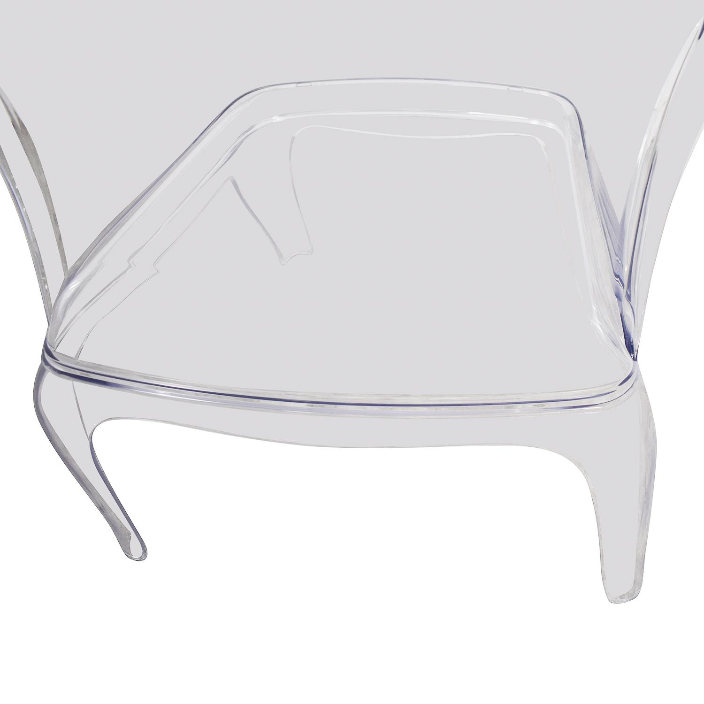 Zuo Modern Transparent Vision Chair Zuo Modern