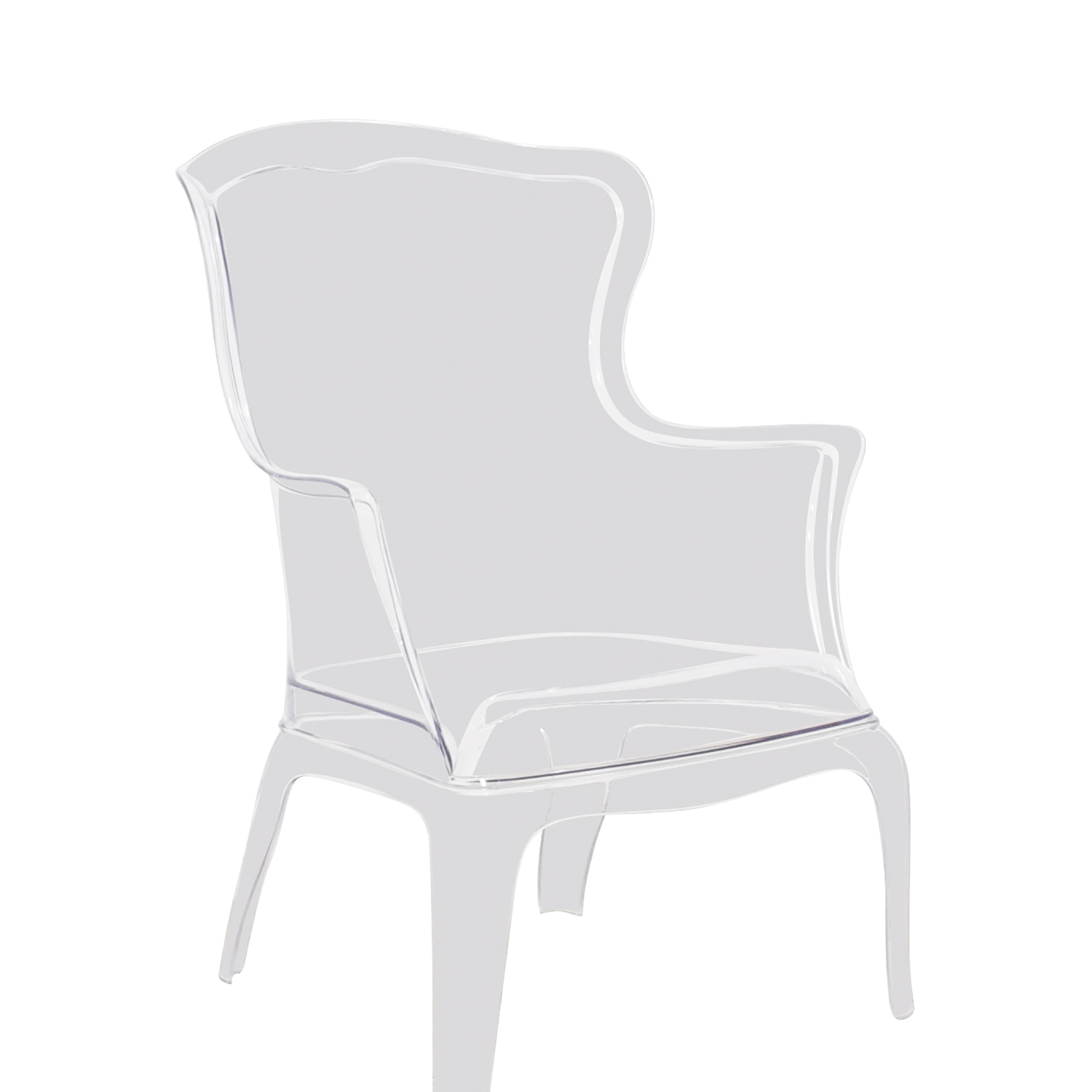 Zuo Modern Zuo Modern Transparent Vision Chair coupon