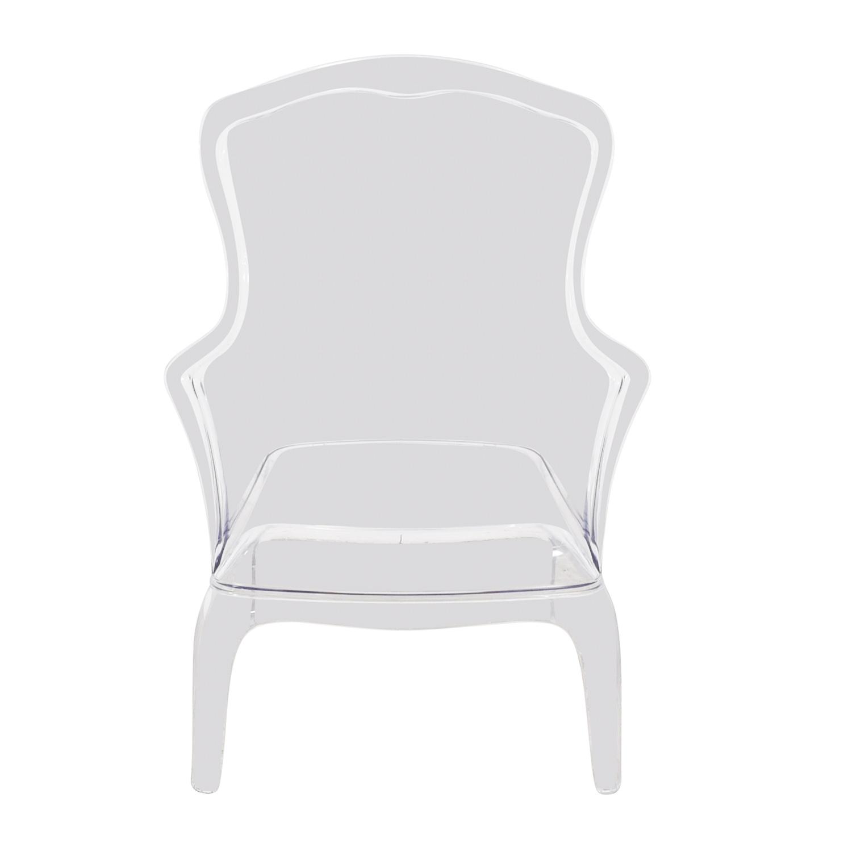 Zuo Modern Zuo Modern Transparent Vision Chair nyc