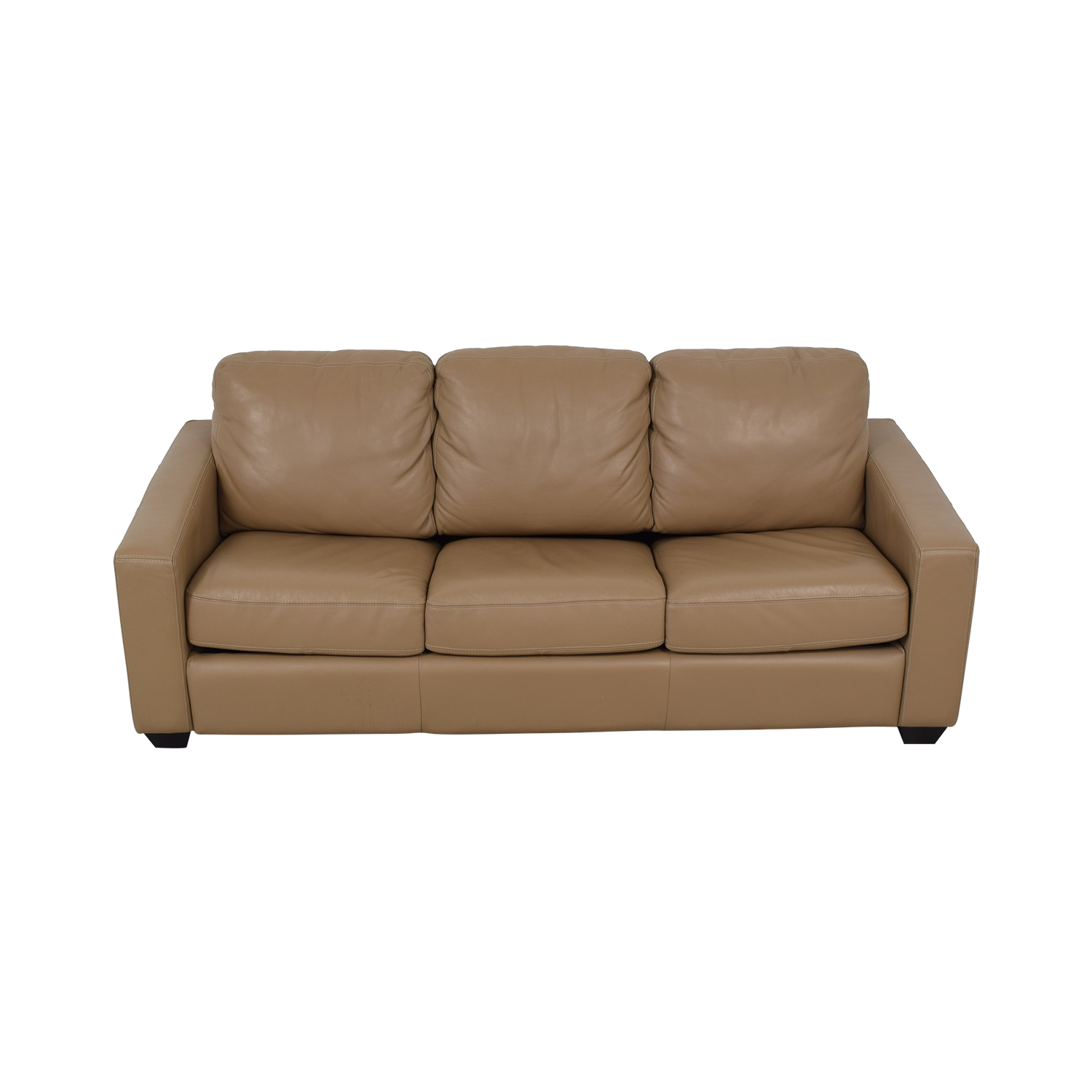 JC Penney Leather Sleeper Sofa sale