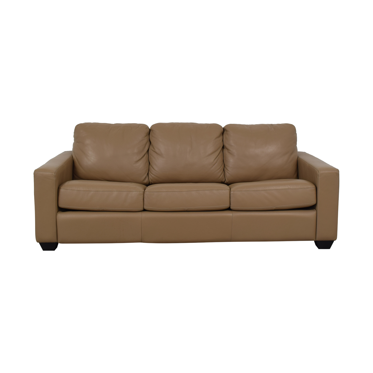 buy JC Penney Leather Sleeper Sofa JC Penney Sofas
