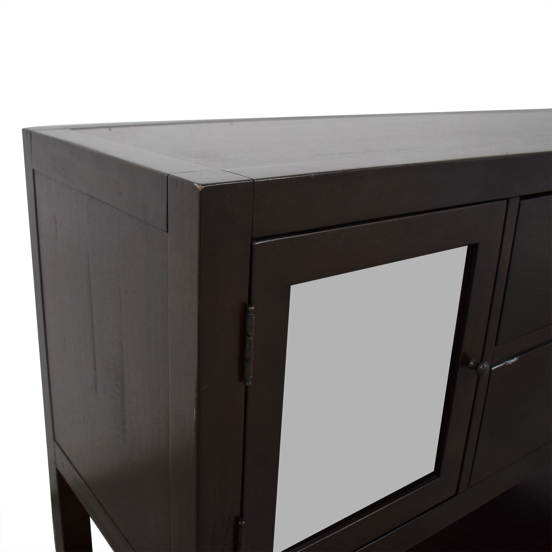 Restoration Hardware Dark Wood Buffet / Cabinets & Sideboards