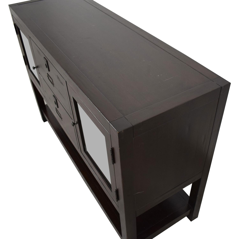 buy Restoration Hardware Dark Wood Buffet Restoration Hardware Storage