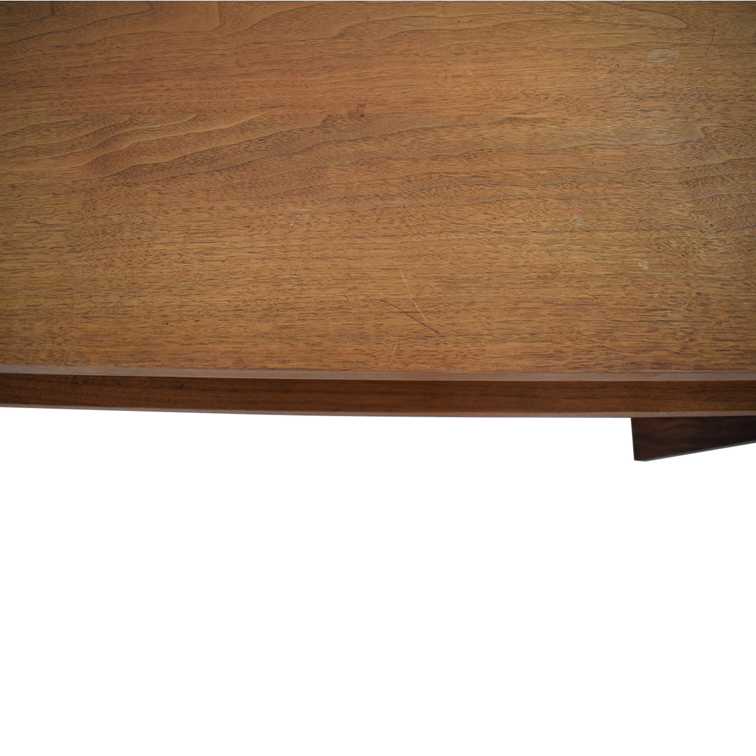 shop  Custom Solid Walnut Desk with Enclosed Shelf Space online