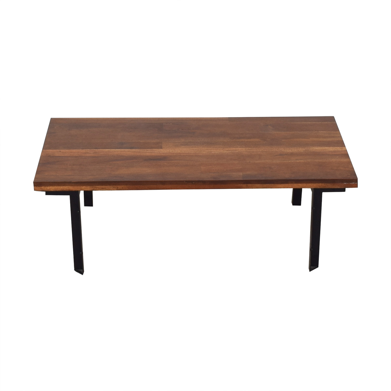 shop West Elm Industrial Coffee Table West Elm