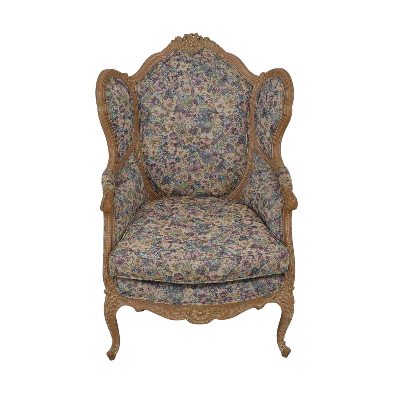 Bon-Ton Interiors Bon-Ton Interiors Upholstered Arm Chair used