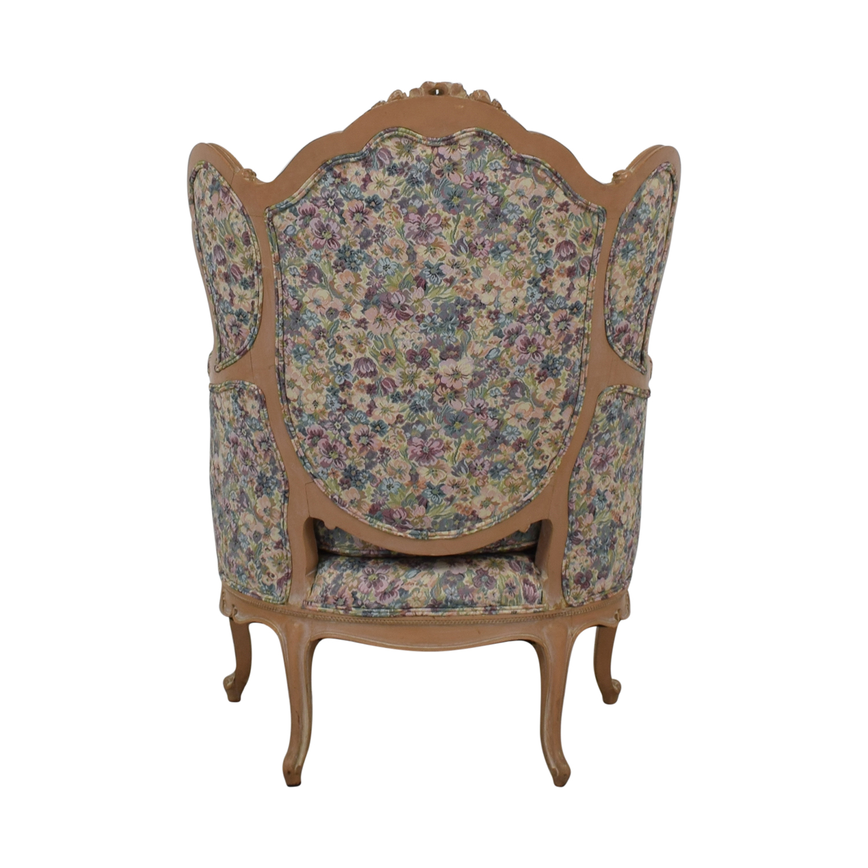 Bon-Ton Interiors Upholstered Arm Chair Bon-Ton Interiors