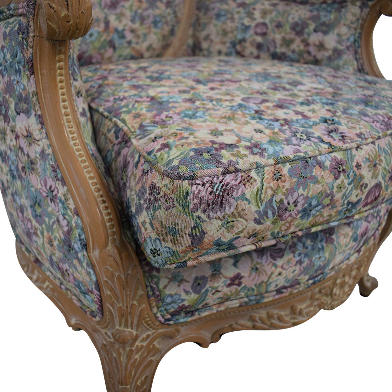 buy Bon-Ton Interiors Upholstered Arm Chair Bon-Ton Interiors