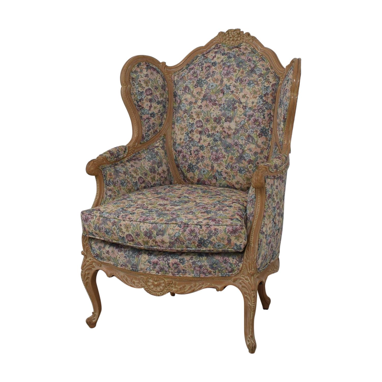 Bon-Ton Interiors Upholstered Arm Chair sale