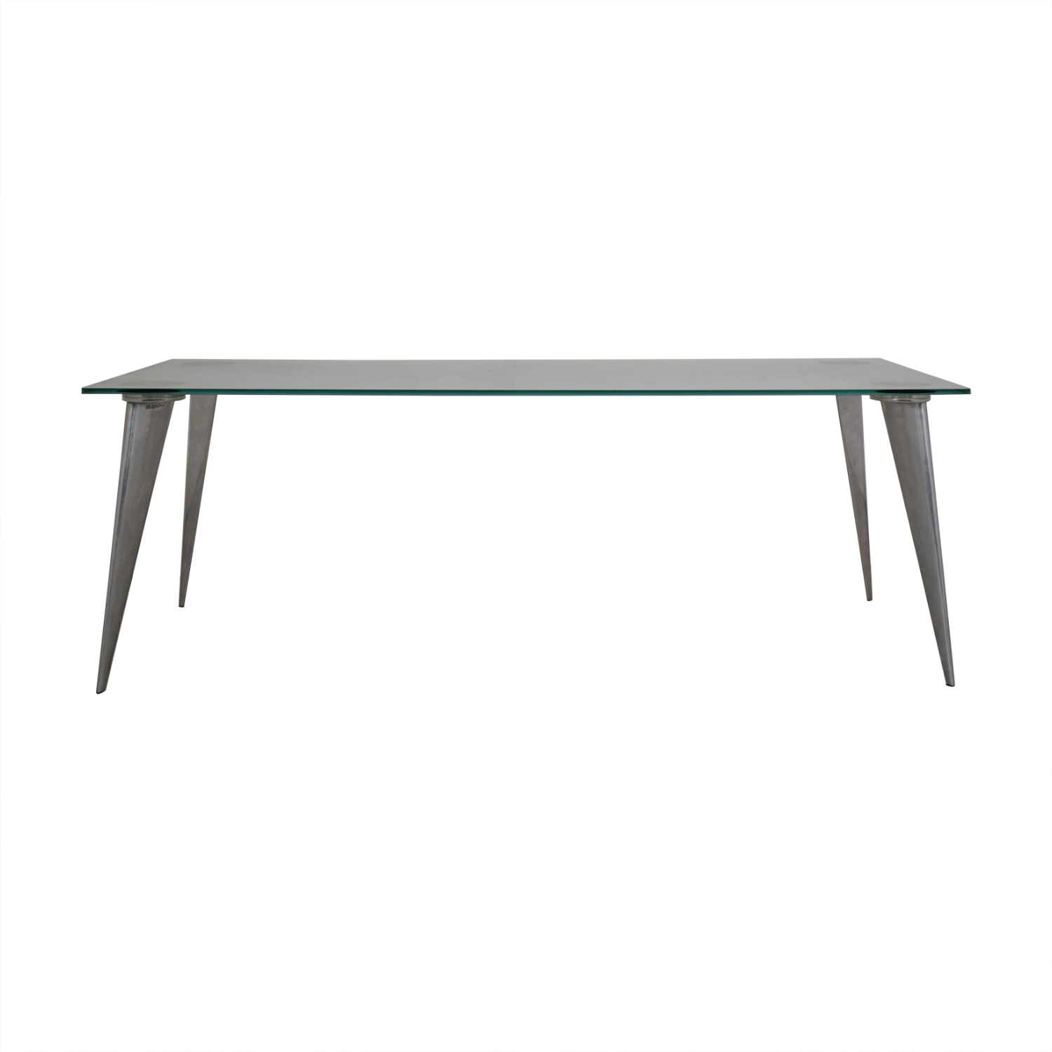 Philippe Starck Philippe Starck Series Lang Dining Table silver