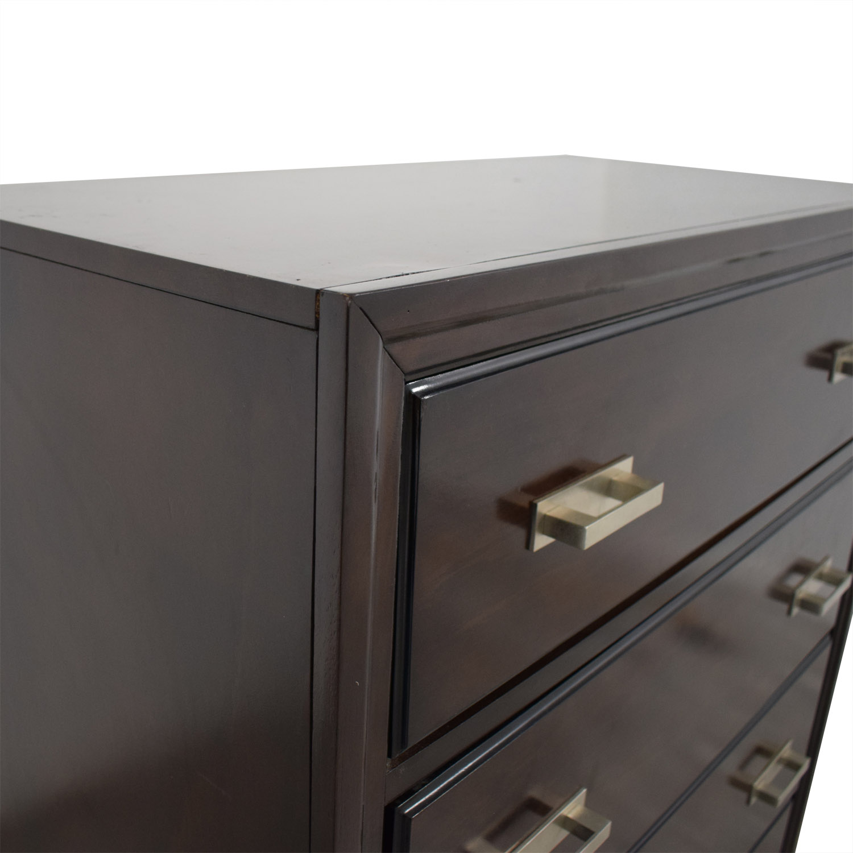 Raymour & Flanigan Raymour & Flanigan Bedroom Five Drawer Dresser second hand