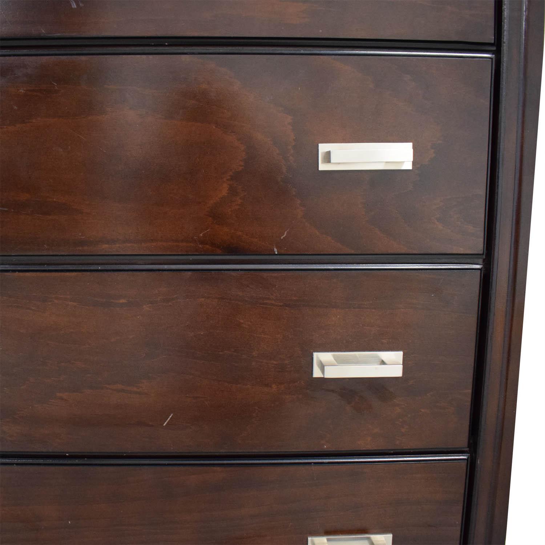 Raymour & Flanigan Bedroom Five Drawer Dresser / Dressers