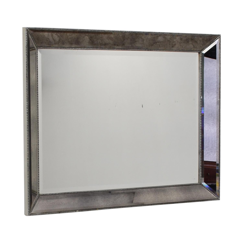 Beveled Framed Mirror dimensions