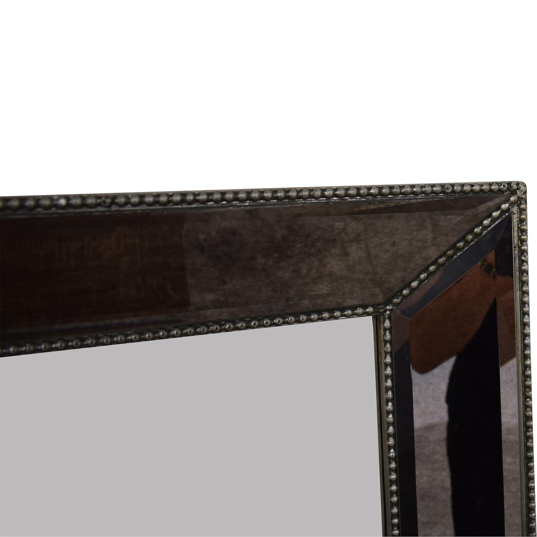Beveled Framed Mirror / Decor