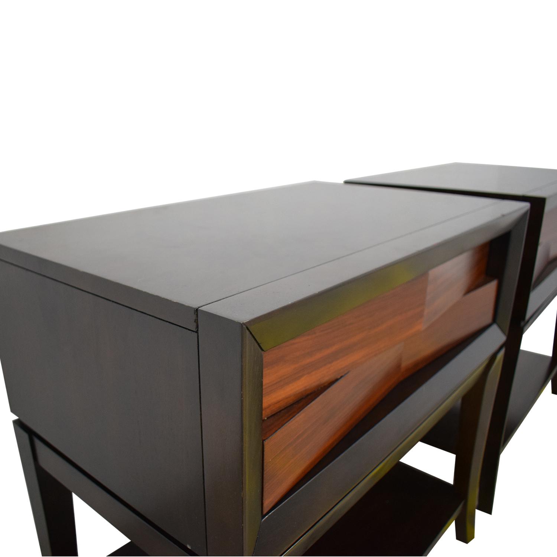 Jordan's Furniture Jordan's Furniture End Tables brown & black