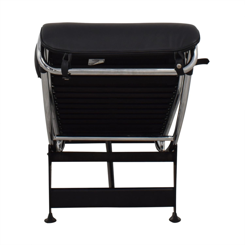 Kardiel Kardiel Gravity Chaise Lounge Chair black
