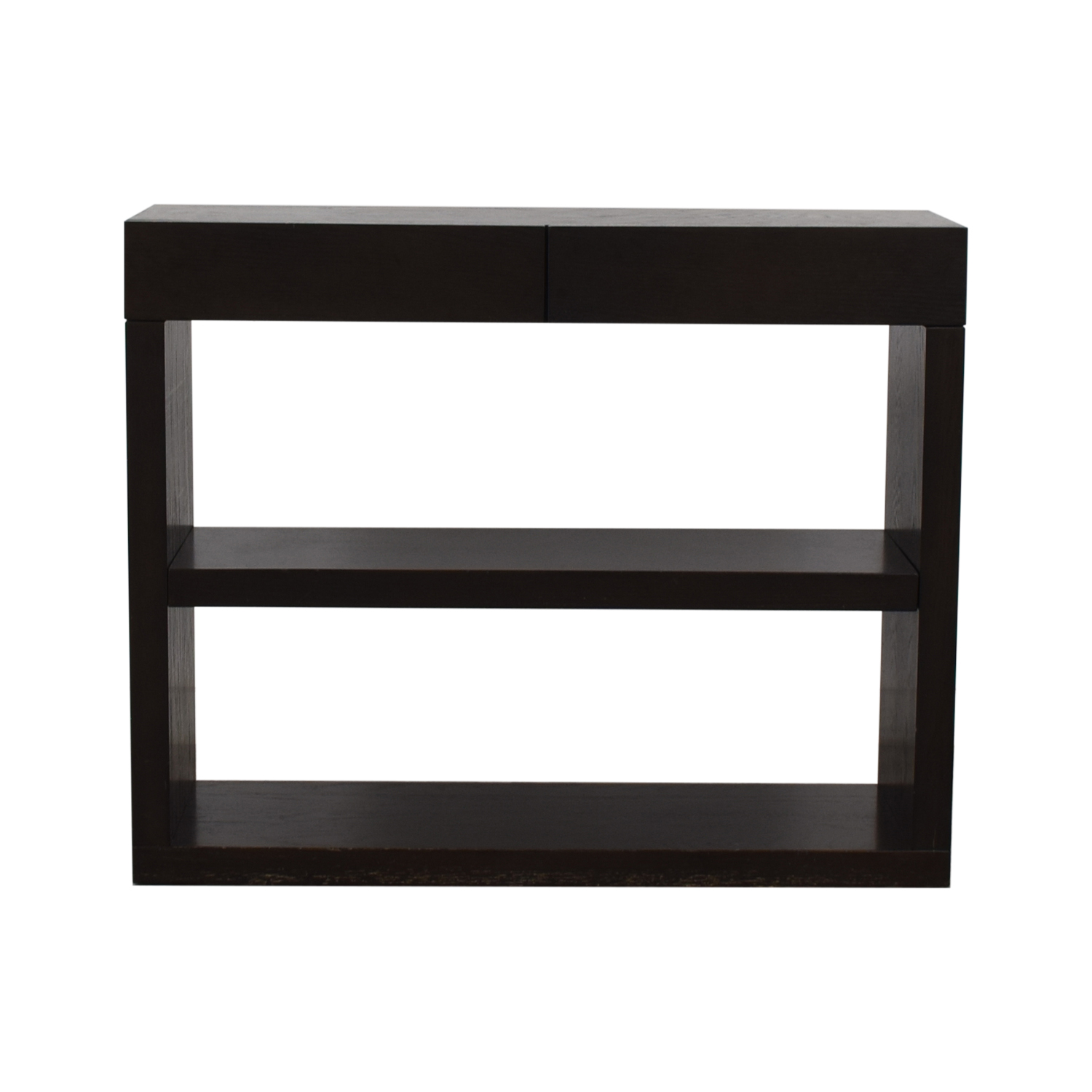 buy West Elm Bookshelf Console West Elm Storage